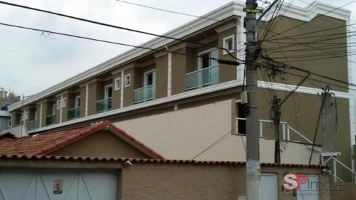 Imagem 1 de 14 de Sobrado Em Condomínio Fechado Para Venda Com 90 M² | Vila Esperança| São Paulo Sp - Sb393698v