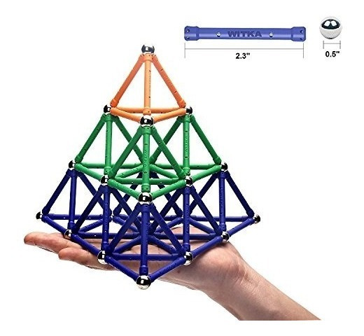 Edress 99 Unidades Alargan Palos Magnéticos Set Set Intellig