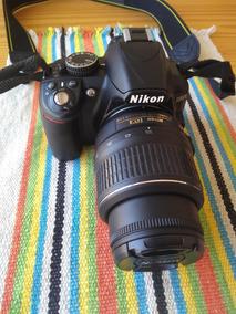 Câmera Semi Profissional Dslr Nikon D3100 Lente 18-55