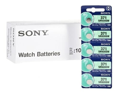 Batería Pila Reloj Sony 371 Sr920sw 1.55v Pack X 5