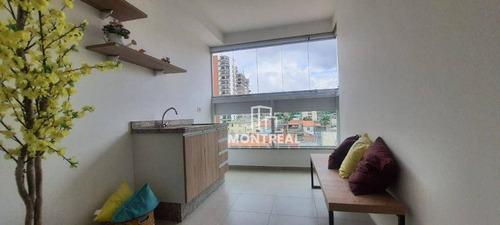 Apartamento Com 2 Dormitórios À Venda, 65 M² Por R$ 398.000,00 - Vila Galvão - Guarulhos/sp - Ap2224