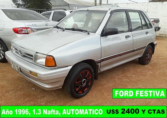 Vendo Financio Ford Festiva 96 Automatico