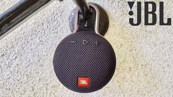 Caixa De Som Bluetooth Jbl Clip 3 Preto Clip3 Original