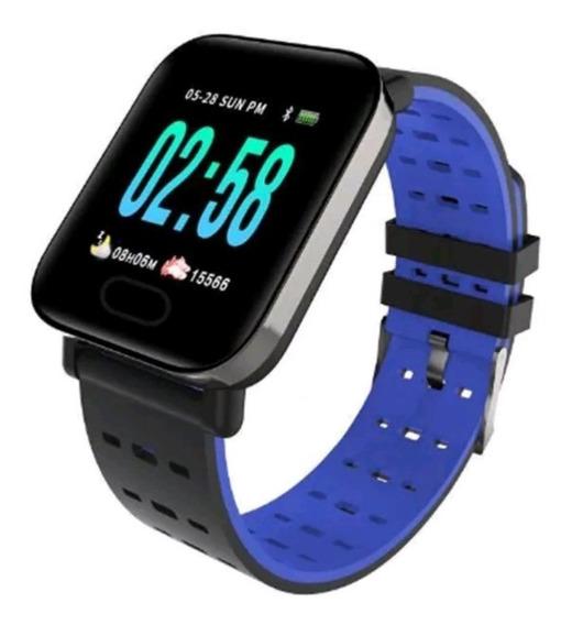 Relógio Smart Bracelet Pressão Arterial Monitor Cardíaco