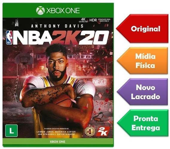Nba 2k20 Xbox One Mídia Física Novo Lacrado Original
