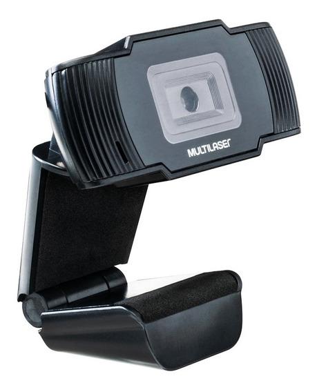 Webcam Para Computador Office Hd 720p Multilaser Ac339 Usb