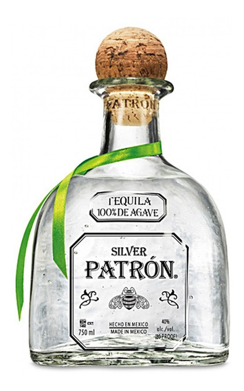 Tequila Patron Silver 750 Ml.*