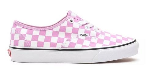 Zapatillas Vans Authentic Checkerboard Pink (vs011111) | Mercado Libre