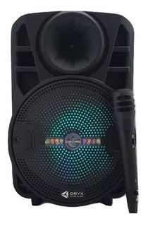 Parlante Recargable Usb Sd Bluetooth Karaoke + Microfono