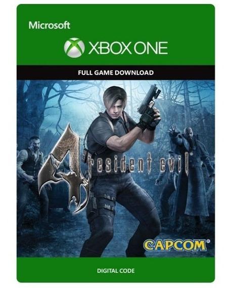 Resident Evil 4 Remastered - Xbox One - Código De 25 Dígitos