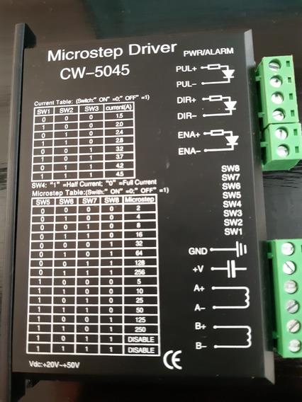 Stepper Driver 5045 1.3 4.5a 24-50v Impresora 3d/ Router Cnc