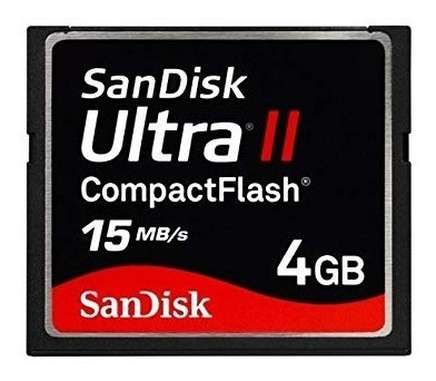 Compact Flash Sandisk 4gb Cartão Memória Cf Ultra Ii