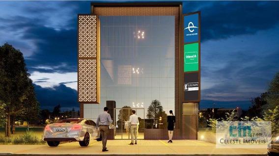 Salão Para Alugar, 172 M² Por R$ 4.000/mês - Portal Ville Azaleia - Boituva/sp - Sl0013
