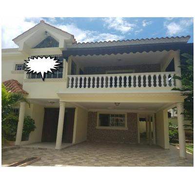 Hermosa Casa 2 Niveles En Mirador Del Este Con Piscina