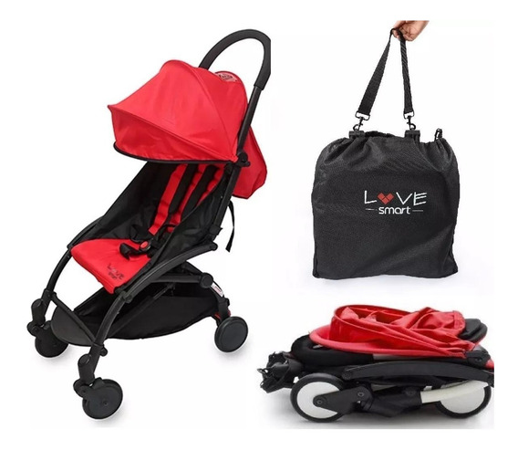 Coche Love Smart 1004 Bolso Ultra Plegable Cabina Avion