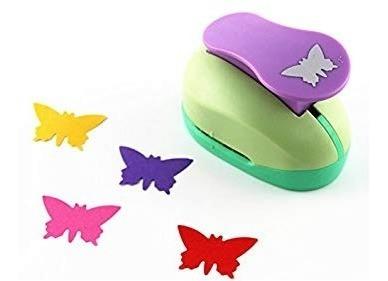 Troquelador Sacabocado Forma Mariposa P/ Goma Eva Papel 5cm