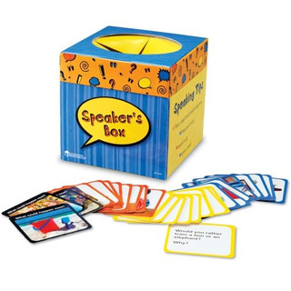 Recursos Aprendizaje Speakers Caja