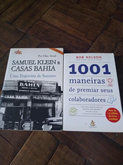Dois Livros: Samuel Klein E Casas Bah E 1001 Maneiras De Pr