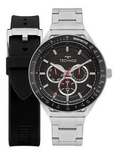 Relógio Technos 6p29ajy/t1p Com 2 Pulseiras