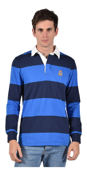Polo Classic Fit Chaps Azul 750722777-2yh2 Hombre
