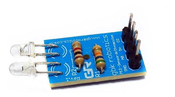 Modulo Sensor De Obstáculos Analógico P12 001195 Gbk Arduino