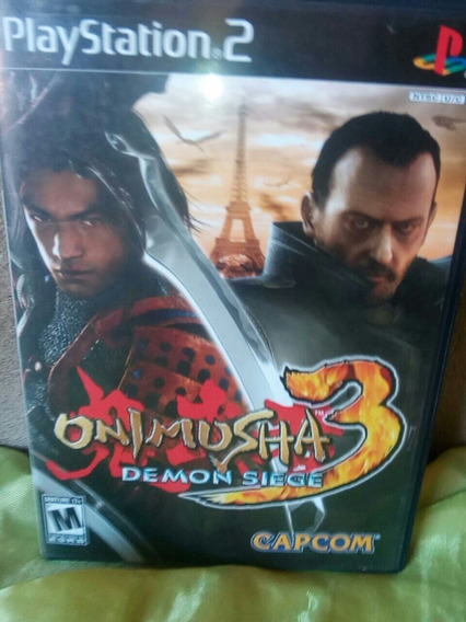 Jogo Onimusha 3 (ps2) Original
