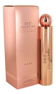 360° Collection Rose 100 Ml Eau De Parfum Spray De Perry Ell