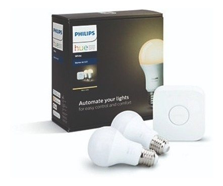 Philips Hue Kit De Inicio White Inteligente - Gen 5 - E27