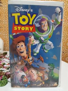Filme Fita Vhs Toy Story Rara Versão Americana Walt Disney