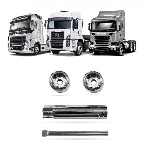 Trava Bateria Antifurto Scania R114 124 143 164 330 M-10