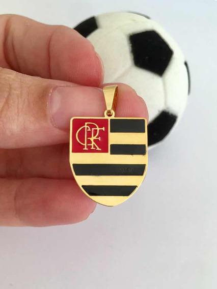 Pingente De Time De Futebol - Flamengo