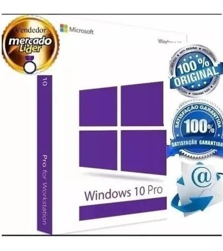 Windows 10 Pro Chave Key Licença Download Via Email Original Com Nota Fiscal / Nf-e
