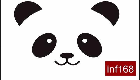 Vinilo Panda 64x40 Cms
