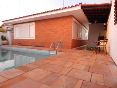 Casa Para Aluguel Em Chácara Da Barra - Ca003571