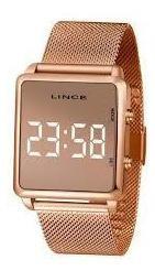 Relógio Lince Feminino Led Mdr4619l Bxrx