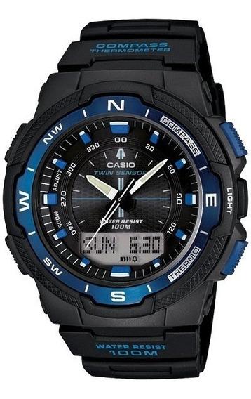 Reloj Original Caballero Marca Casio Modelo Sgw500h2bvcf