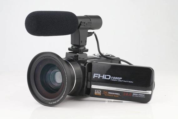 Filmadora Full Hd Ideal Para Youtuber E Live.
