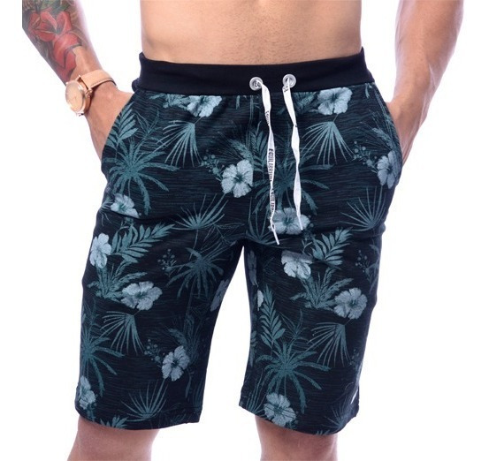 Kit Com 5 Shorts Bermudas De Moletom Masculinos Originais