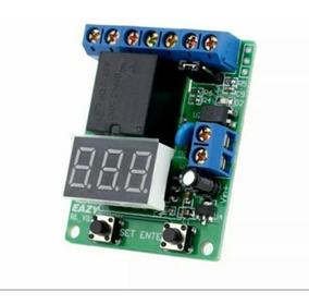 Rele Proteção De Bateria Descarga E Sobrecarga 12/24v