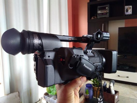Filmadora Panasonic Ag Hmc 150 - 3 Ccds - Pouco Uso + Nova