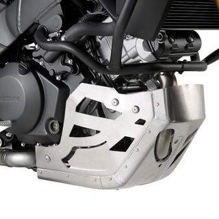 Cubre Carter Aluminio Givi Suzuki Vstrom 1000 2014/17 Cuotas