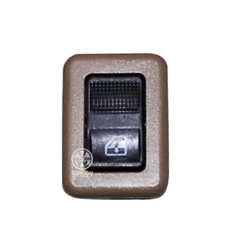 Interruptor Vidro Porta Tras Marrom Santana/ Qtum Orig Vw