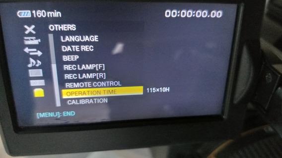 Filmadora Camera Sony Nx5 Nx 5 Com Sdi