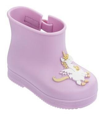Bota Mini Melissa Boot + Vivienne Westwood Infantil