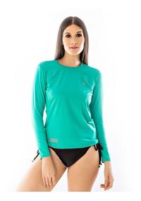 Kit 4 Camisas Feminina Proteção Uv Solar Térmica Segunda Pel