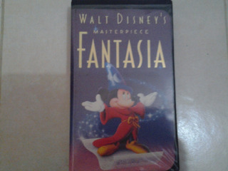 Walt Disney´s Vhs Materpiece Fantasia.