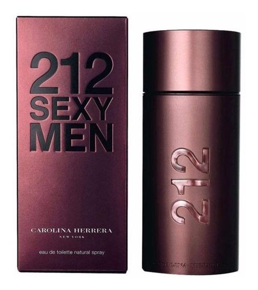Perfumes Caballeros 212 Sexy Men Carolina Herrera Colonias