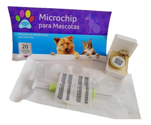 Imagen 1 de 7 de 5x Pack Chip Microchip Para Perros Y Gatos Mascotas