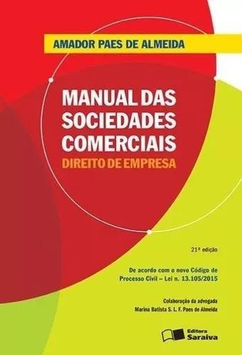 Manual Das Sociedades Comerciais