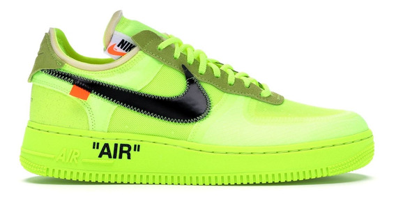 Nike Air Force One Off White Low Volt